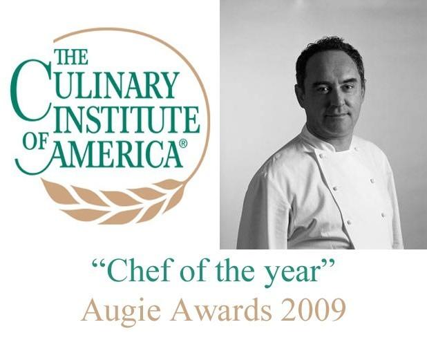 Ferran Adriá Chef ol the year
