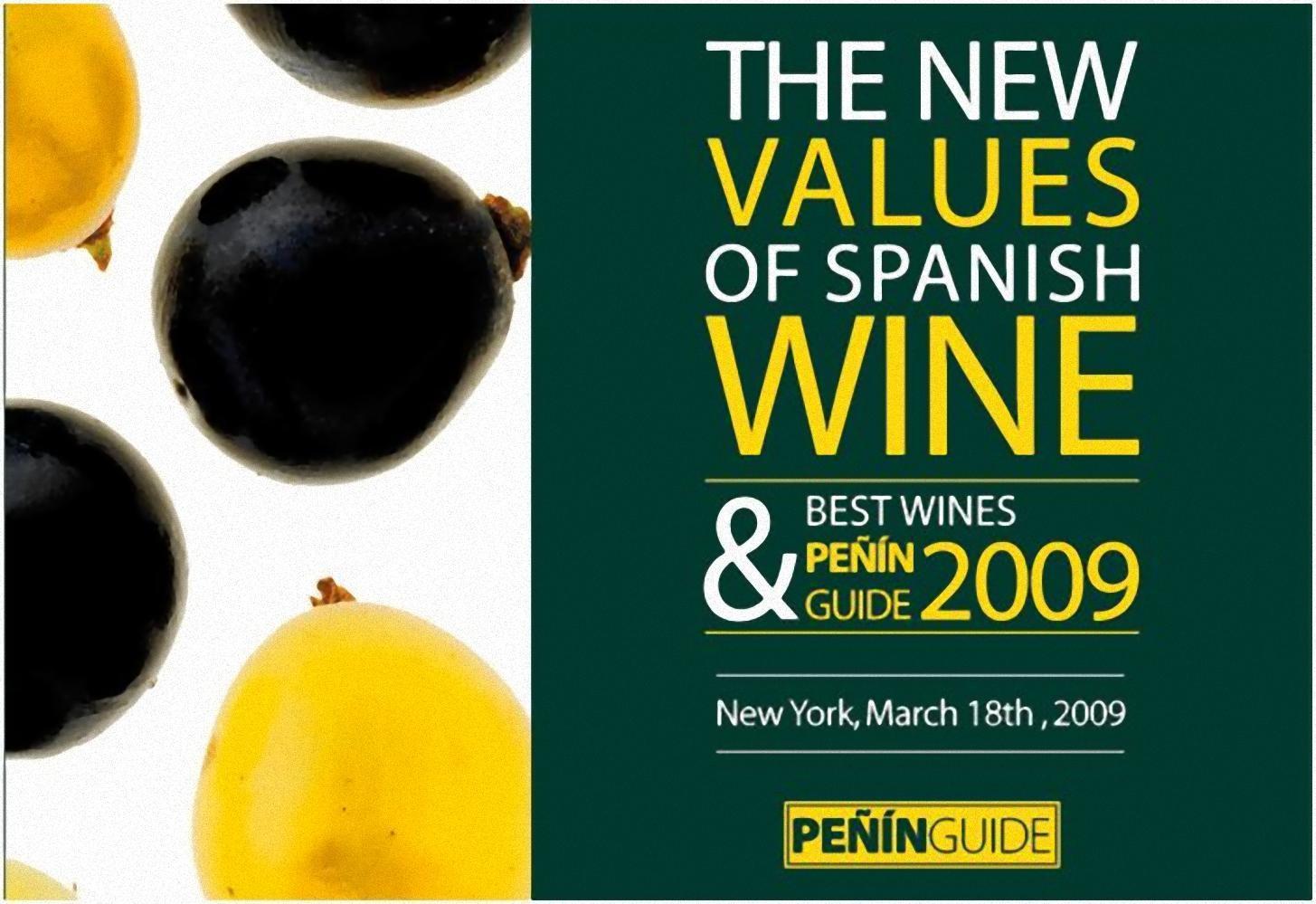 Mejores vinos de España según la Guía Peñín 2009
