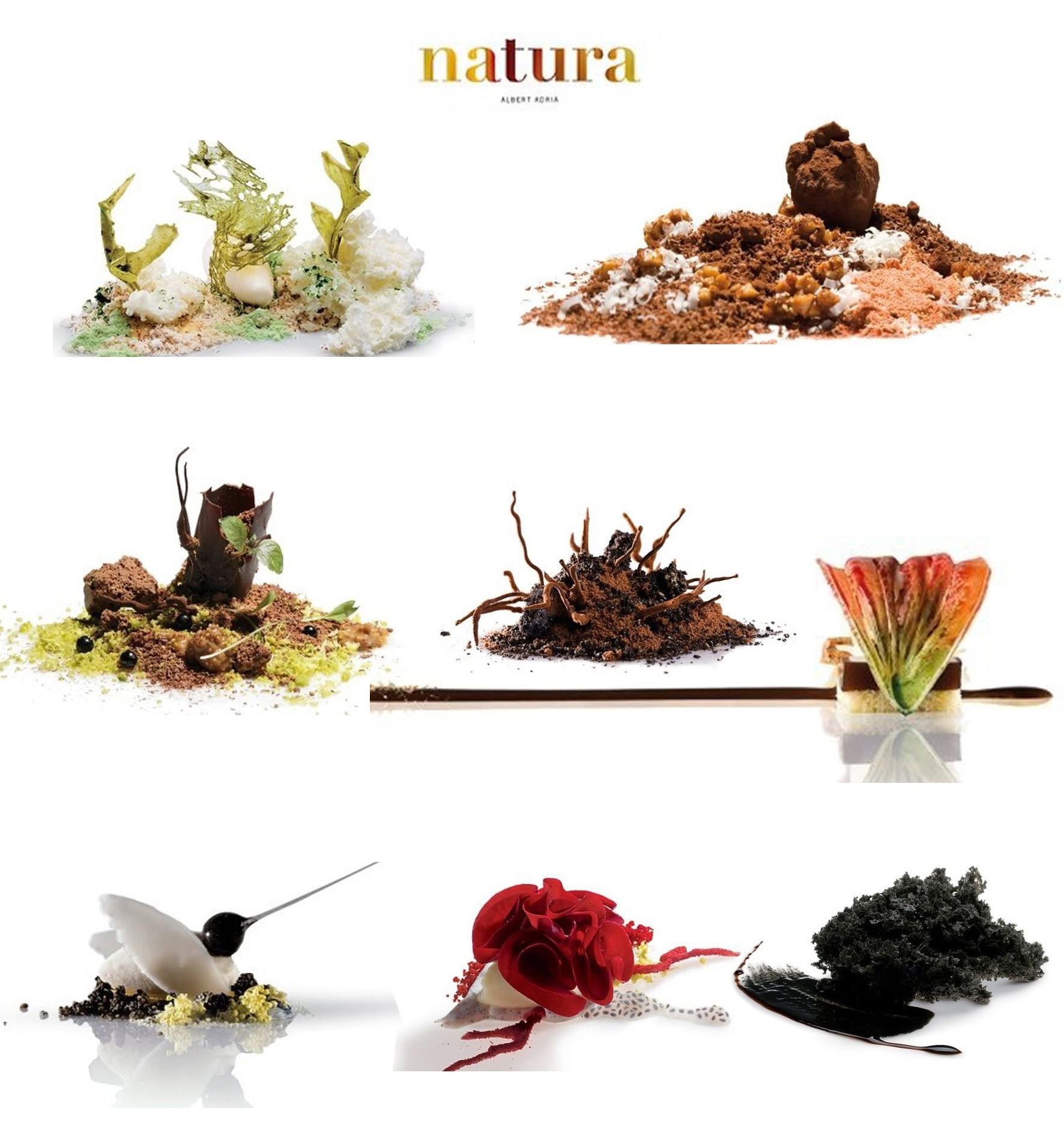 """""""Natura"""" un espectacular recetario de Albert Adriá"""