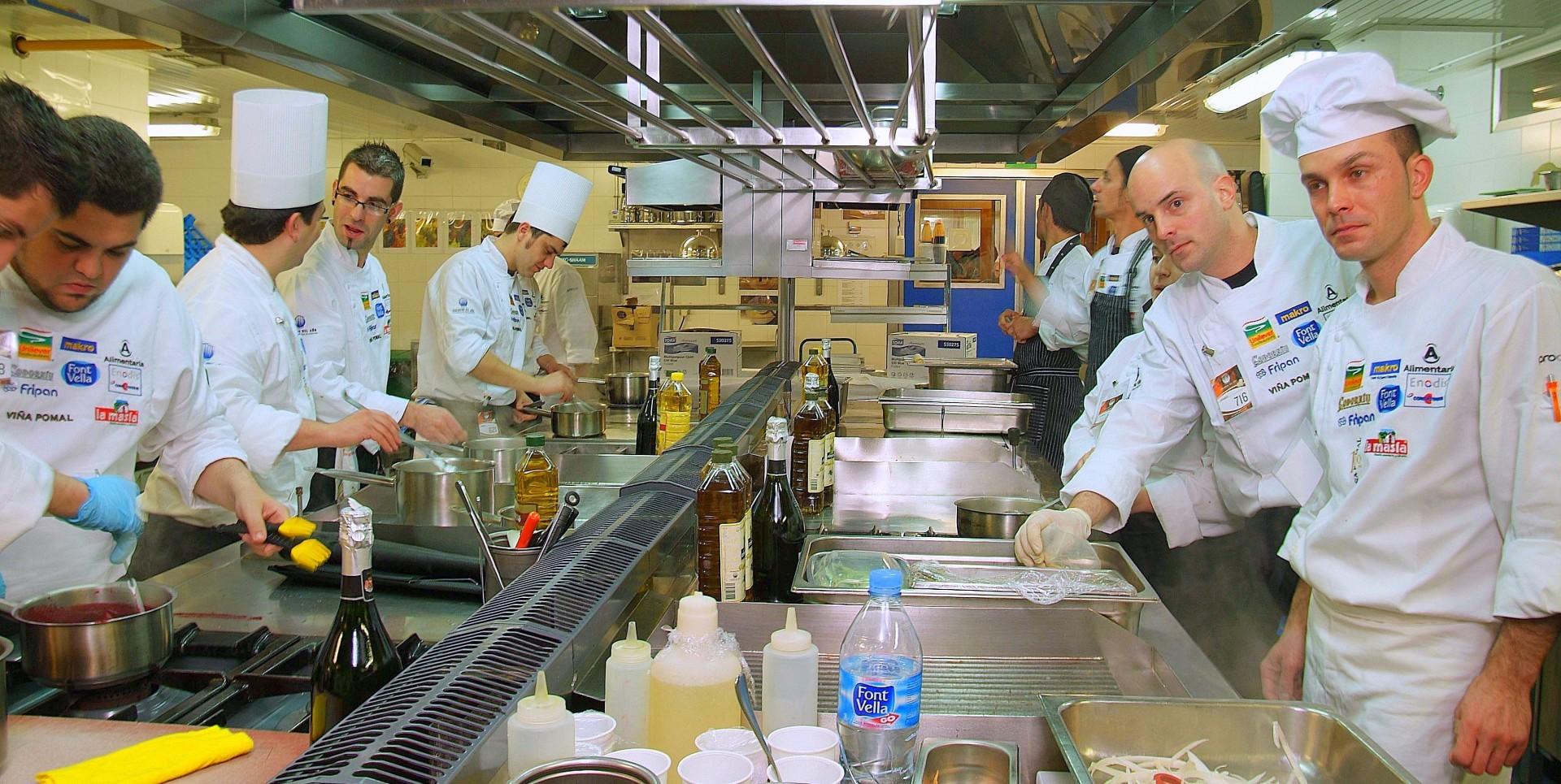 Cocina semifinal Santiago