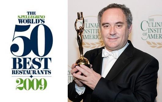El Bulli de Ferran Adrià, mejor restaurante del mundo