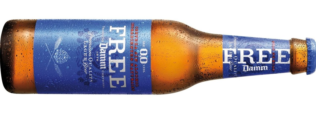 Free Damm, la cerveza sin alcohol con menos calorías