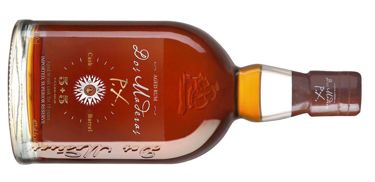 Botella de Ron Dos Maderas PX
