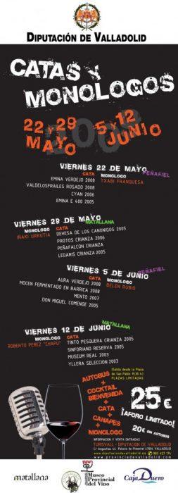 Catas y Monólogos en Valladolid (2)