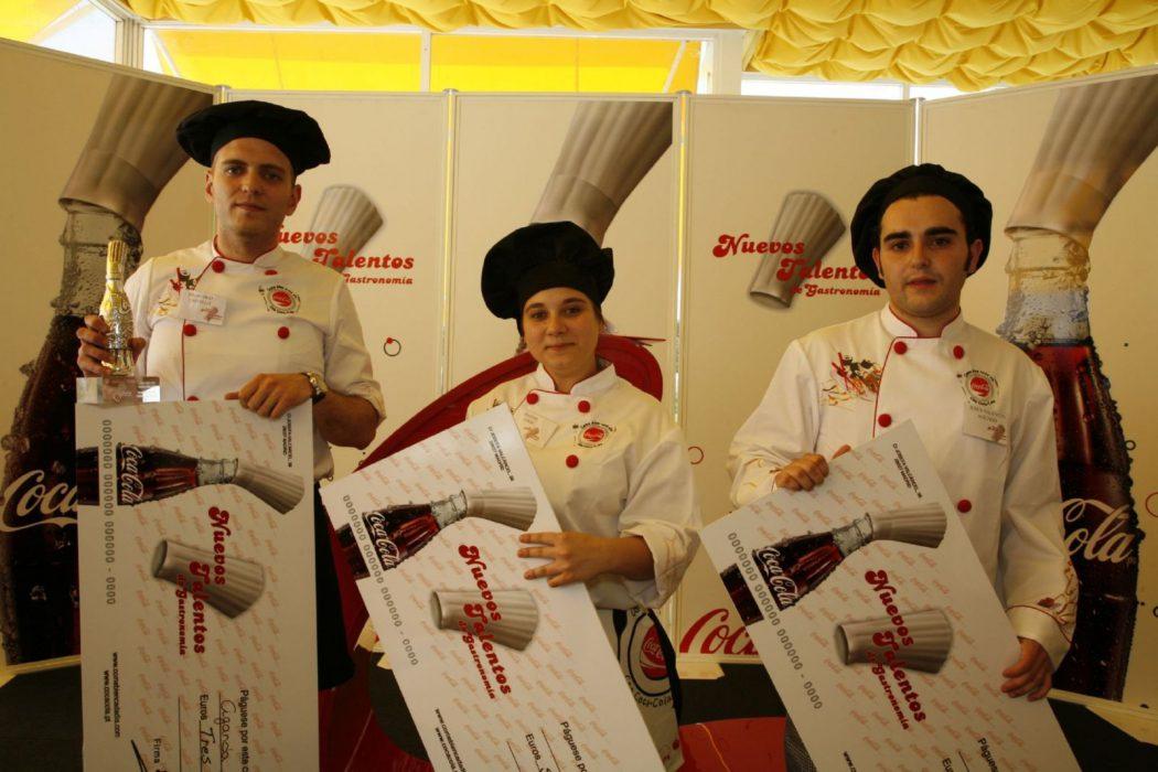 Ganadores Españoles Concurso Nuevos Talentos de Gastronomía 2009; España y Portugal.