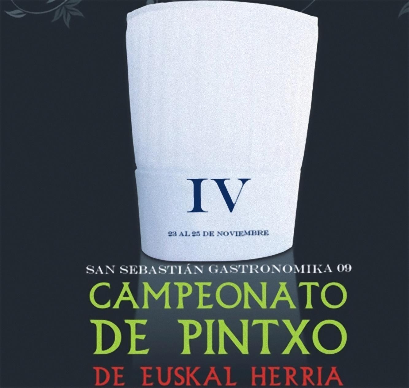 IV Campeonato de Euskal Herria de Pintxos