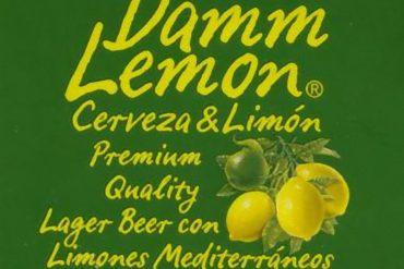 Cerveza Damm Lemon