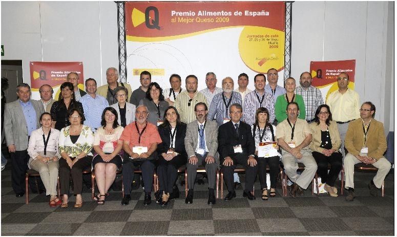 Premio Alimentos de España al mejor queso 2009