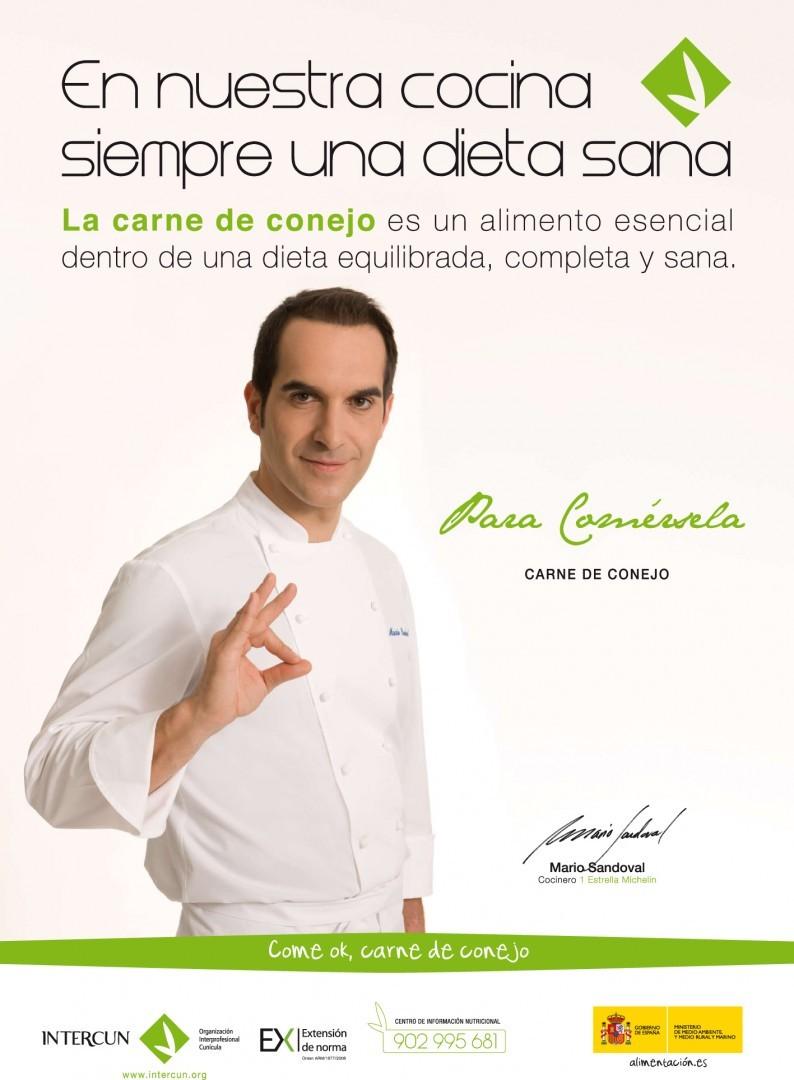 Carne de Conejo y Mario Sandoval