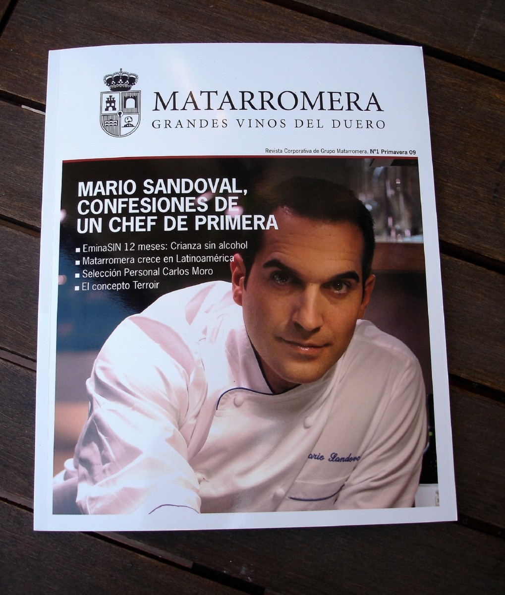 "Revista ""Matarromera, Grandes Vinos del Duero"""