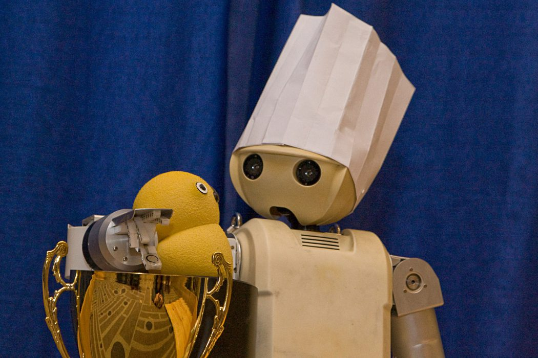 Sylvain Calinon Chief Cook Robot