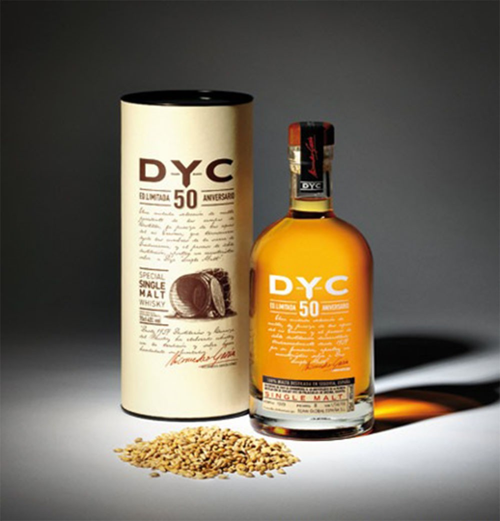 Whisky DYC Single Malt 50 años