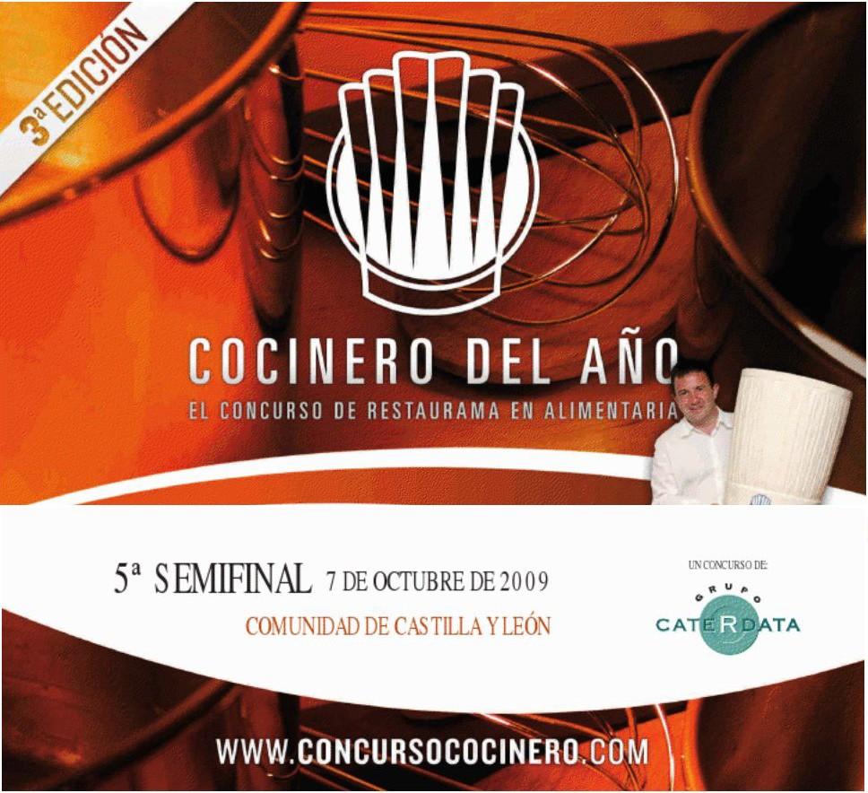 5ª Semifinal de III Concurso Cocinero del Año en Valladolid, Castilla y León