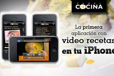 Canal Cocina en iPhone 1