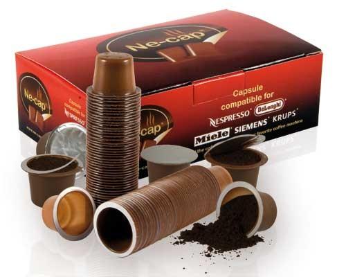 Capsulas vacias para recargar Nespresso