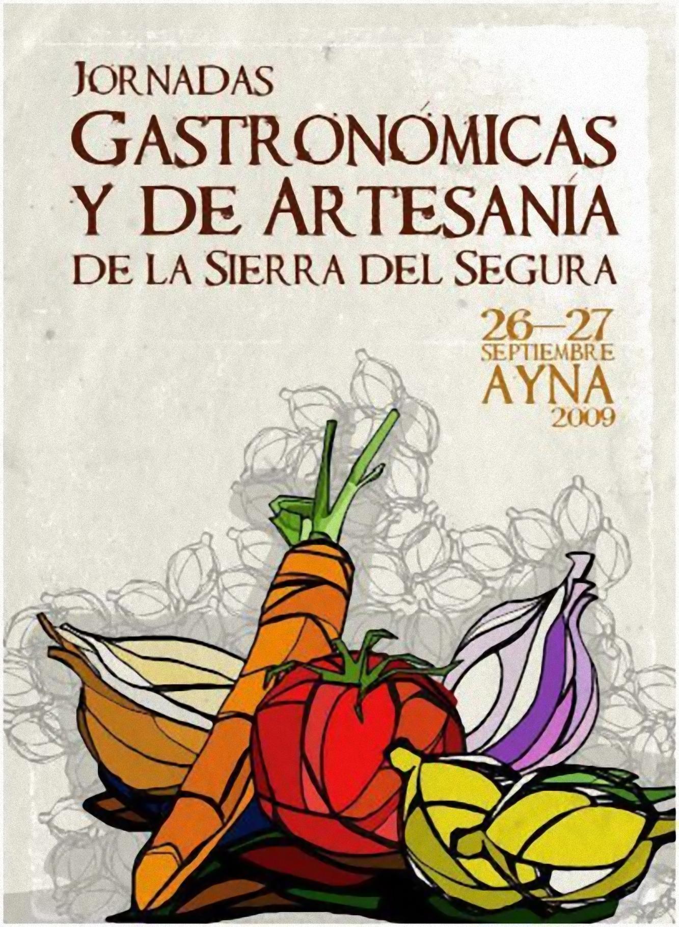 Jornadas Gastronómicas y de Artesanía de la Sierra del Segura 1