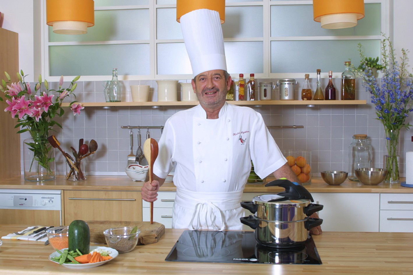 karlos argui ano profesor de cocina