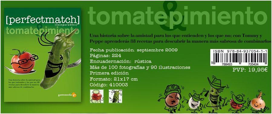 Libro Tomate & Pimiento (inseparables) (1)