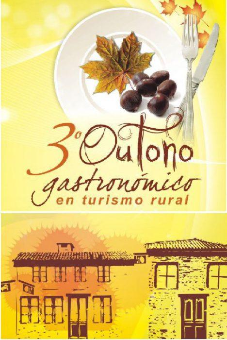 """""""Otoño Gastronómico"""" en Turismo Rural de Galicia"""