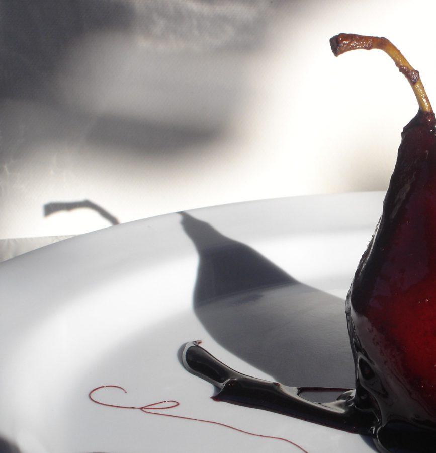 Peras al vino de la Ribera del Duero