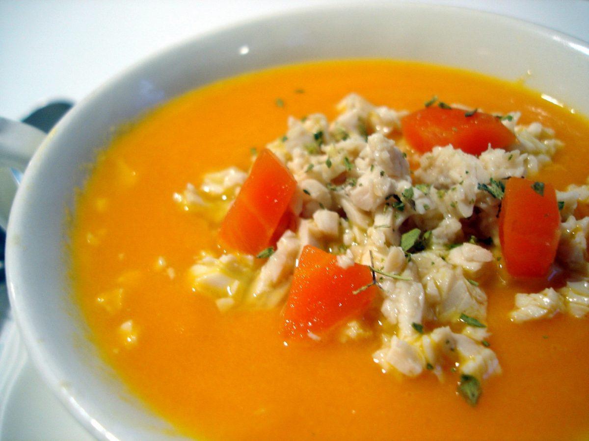 Crema de zanahoria 1