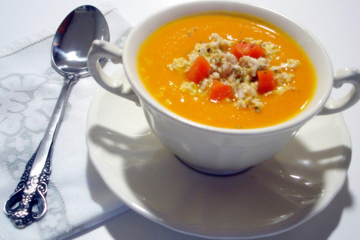 Crema de zanahoria receta