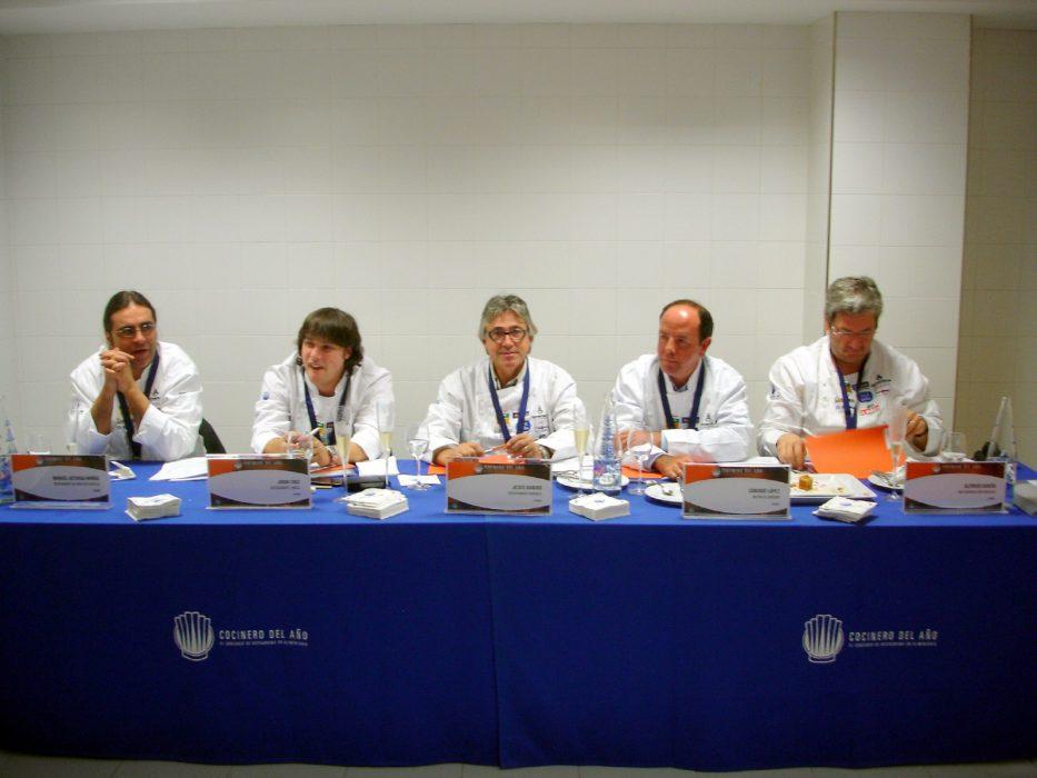 Jurado Semifinal Castilla y León Concurso Cocinero del Año