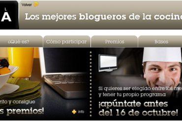 Mejor bloguero de la cocina 2009