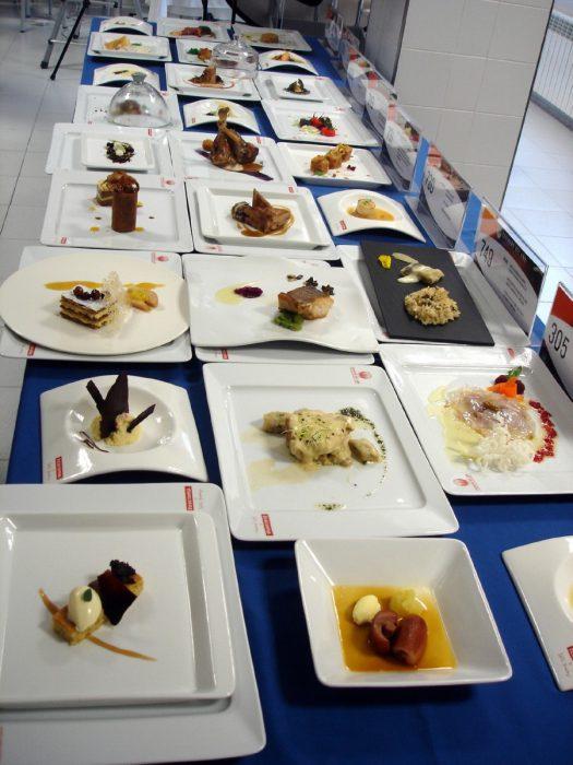 Menús Semifinal Castilla y León Concurso Cocinero del Año