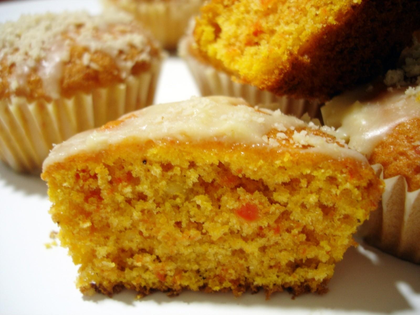 Muffins de zanahorias y piñones