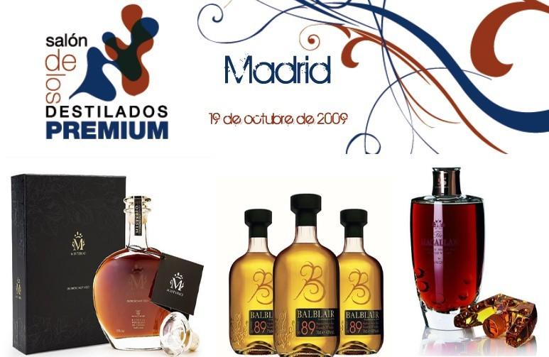 Primer Salón de los Destilados Premium en Madrid