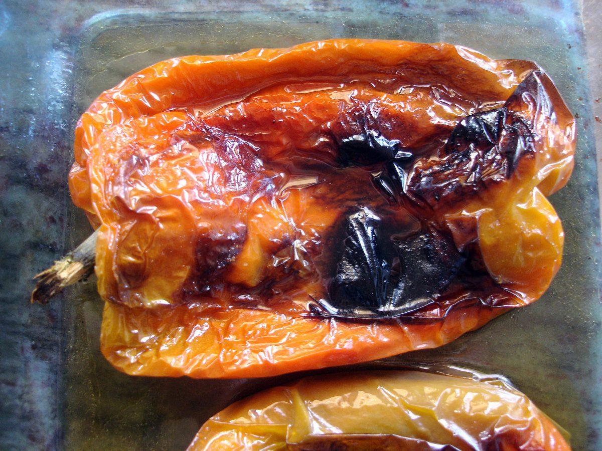 Receta de pimientos asados al horno