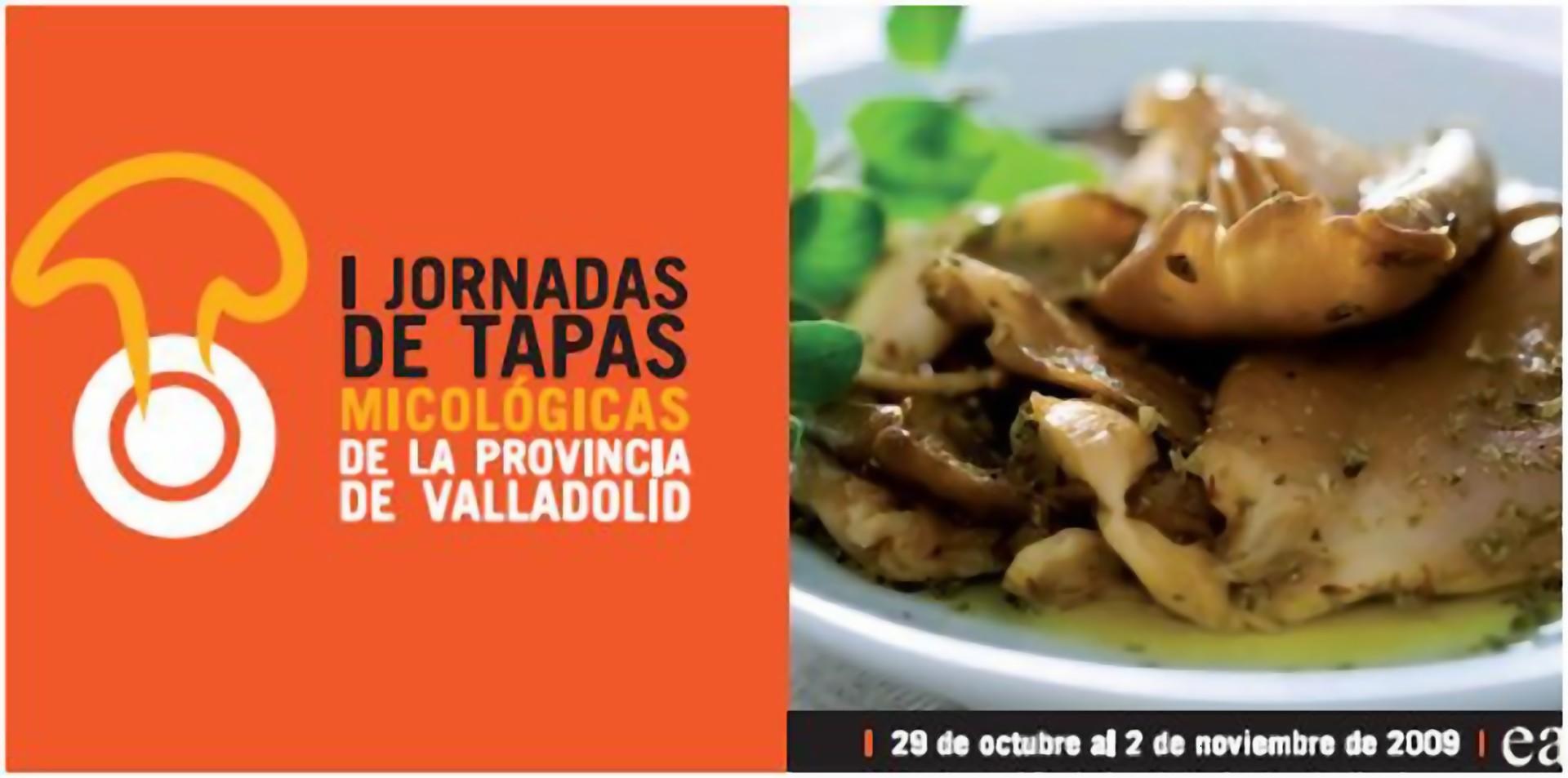 Tapas Micológicas de la Provincia de Valladolid