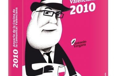 Portada del Anuario de la Cocina de la Comunitat Valenciana 2010