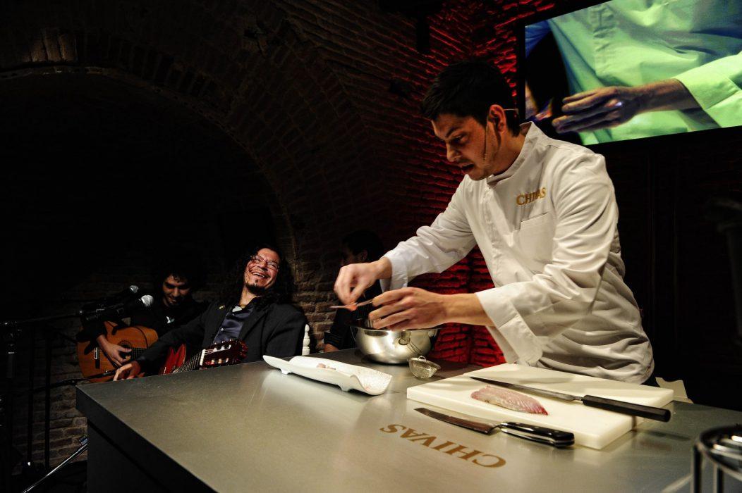 chef Jeff Ramsey y el músico Raimundo Amador