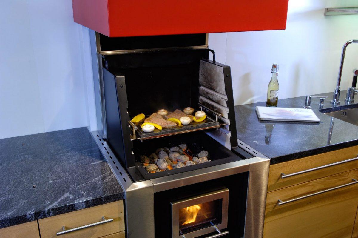 Cocina de le a cookcook cocina horno y parrilla - Cocinas de lena ...