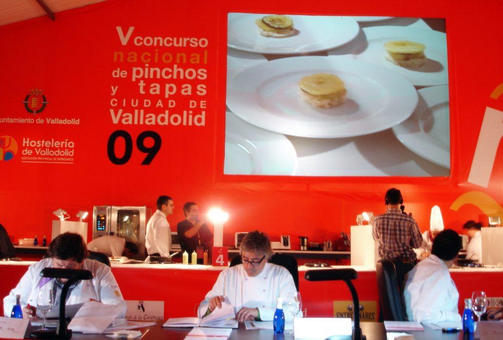 Concurso Nacional de Pinchos y Tapas de Valladolid