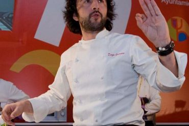 El cocinero Diego Guerrero