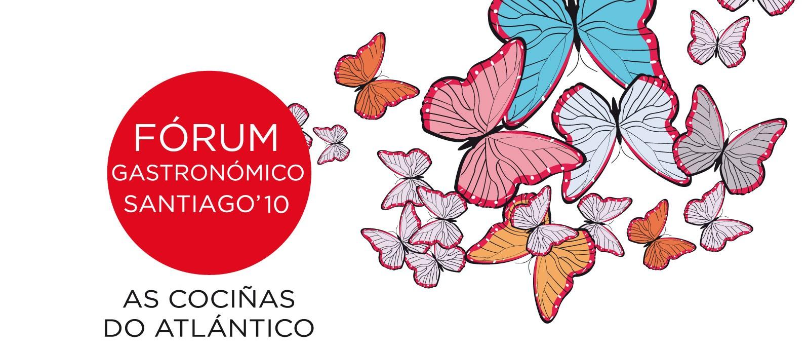Fórum Gastronómico Santiago 2010 Logo