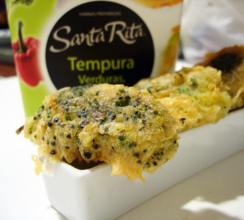 Receta de Brócoli en tempura 1