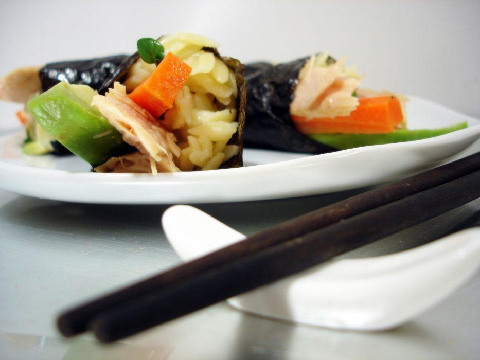 Sushi Temaki de orzo y ventresca de bonito (1)
