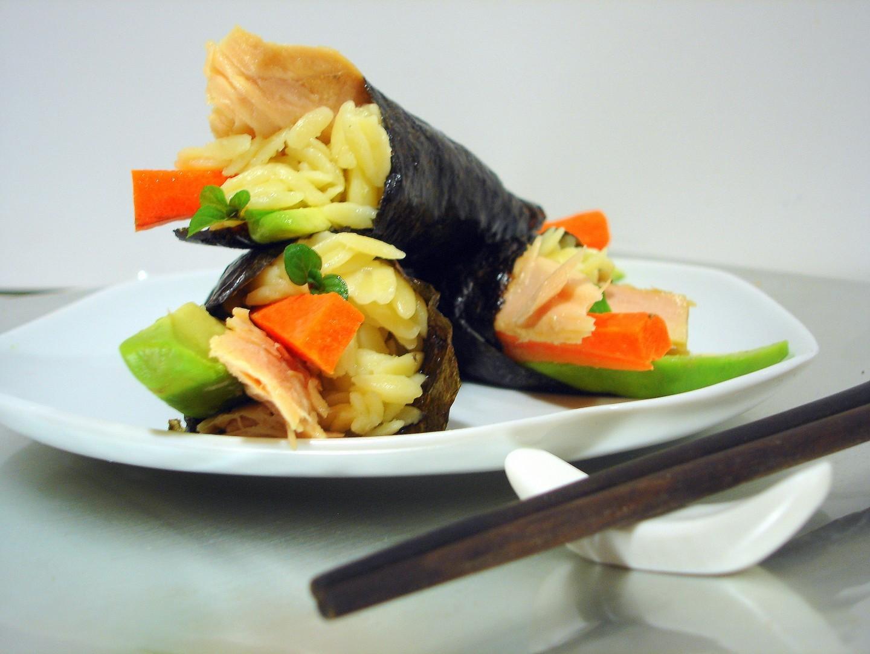 Sushi Temaki de orzo y ventresca de bonito (3)
