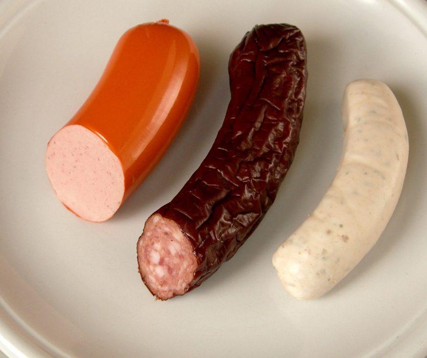 Tipos de salchicha