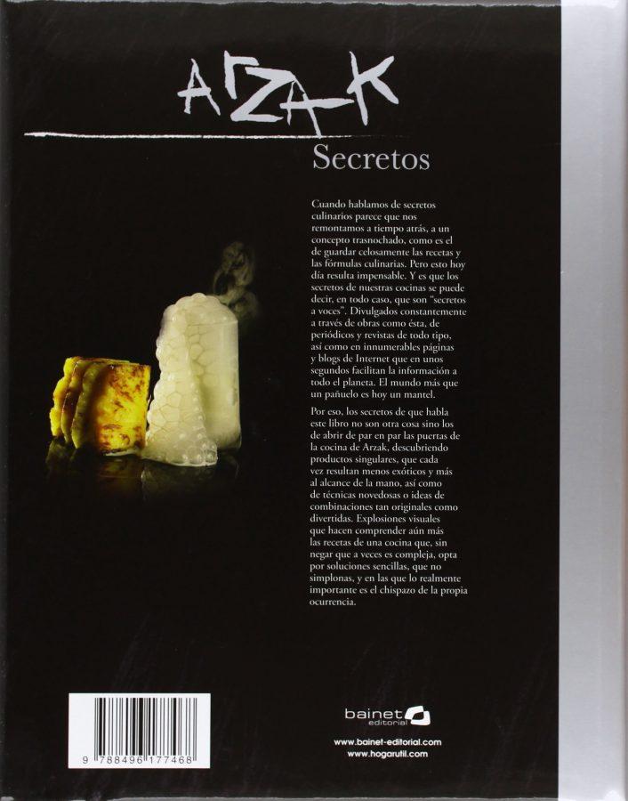 Arzak Secretos nuevo libro de Juan Mari Arzak (1)