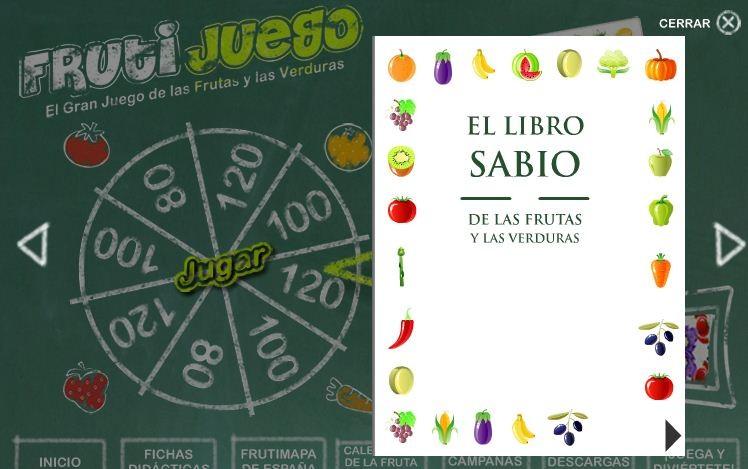 Frutijuego El gran juego de las frutas y las verduras (3)