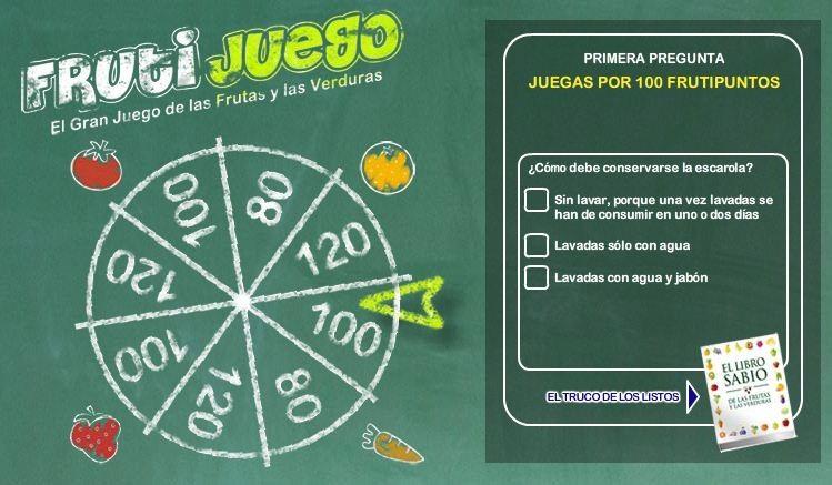 Frutijuego El gran juego de las frutas y las verduras (4)