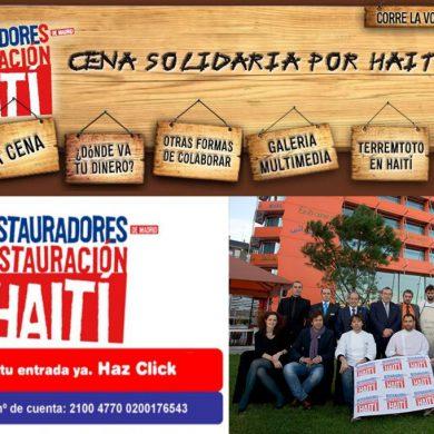 Cena Solidaria Restauradores por Haití