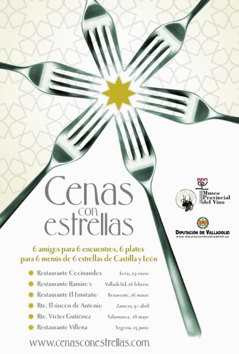 Cenas con estrellas en Castilla y León 2010