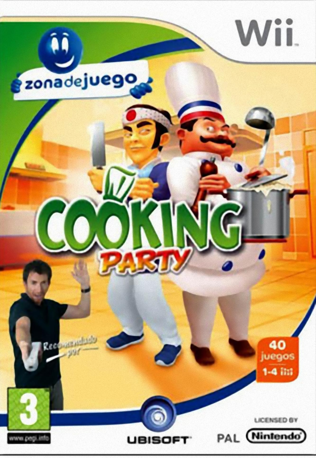 Cooking Party wii
