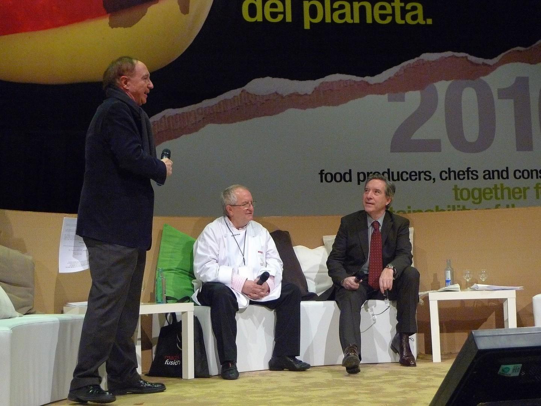 Entrevista de Juan Mari Arzak en MadridFusión 2010